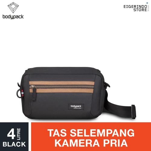 Foto Produk Bodypack Prodigers Veritage 1.0 Camera Shoulder Bag - Black 4L dari Eigerindo Store