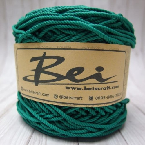 Foto Produk Benang Rajut Polyester/Poliester/Policherry Warna Tosca dari RT 04 Shop