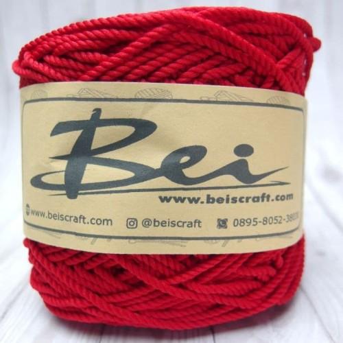 Foto Produk Benang Rajut Polyester/Poliester/Policherry Warna Merah Cabai dari RT 04 Shop