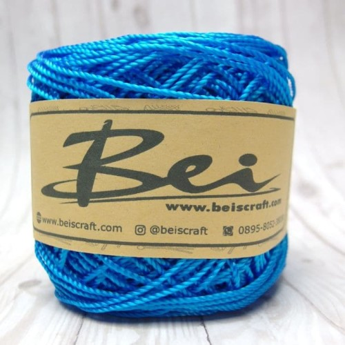 Foto Produk Benang Rajut Nilon / Nylon D27 Warna Biru dari RT 04 Shop