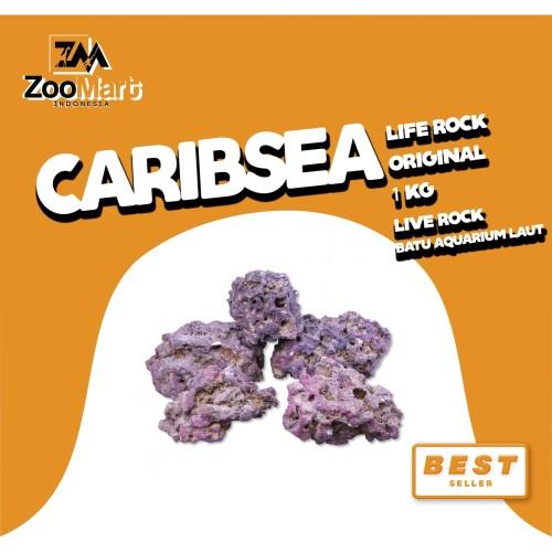Foto Produk CaribSea Life Rock Original 40 Lb / Live Rock / batu aquarium laut dari ZooMart