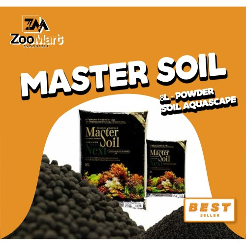 Foto Produk Master Soil 8L - Super Powder / Soil Aquascape dari ZooMart