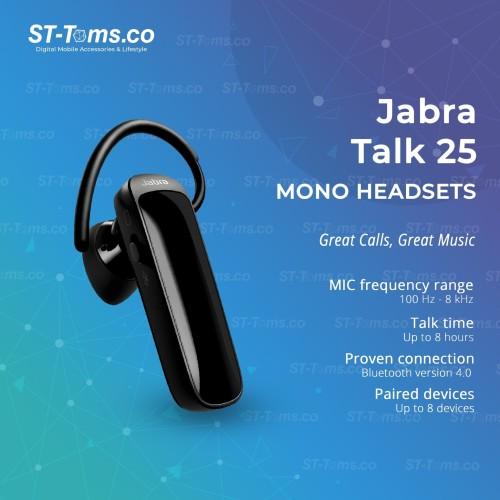 Foto Produk Jabra Talk 25 Wireless Bluetooth Headset dari ST-Toms.co