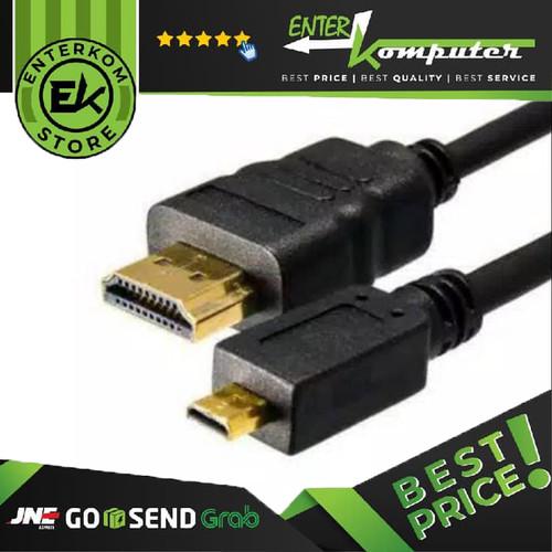 Foto Produk Kabel Micro HDMI To HDMI 1.5M - Standard dari Enter Komputer Official