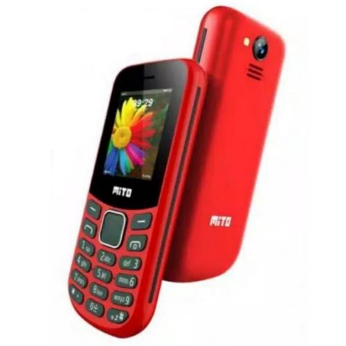 Foto Produk MITO 120i 1.8 INCH/CAMERA/MP3/RADIO/HP MURAH BERKUALITAS/GARANSI RESMI dari MEGA phone shop