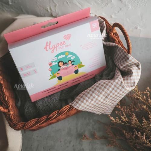 Foto Produk Hypee Pee Bag Girl 5 Pcs (Kantong Urin Portable / Travel) dari Nourish Indonesia