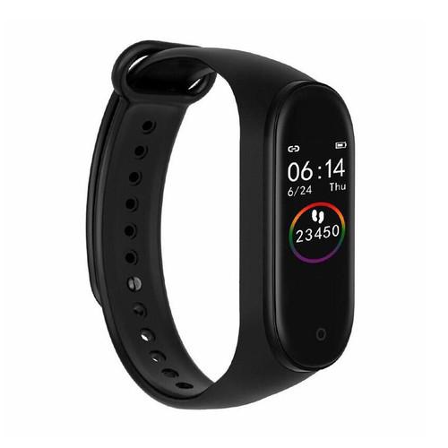 Foto Produk Smart Watch Smartwatch M4 Anti Air Support Android dan Iphone - Hitam - Hitam dari SmartClick