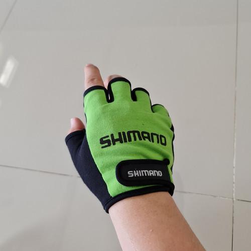 Foto Produk Sarung tangan gel sepeda murah - Hijau dari sumberbike