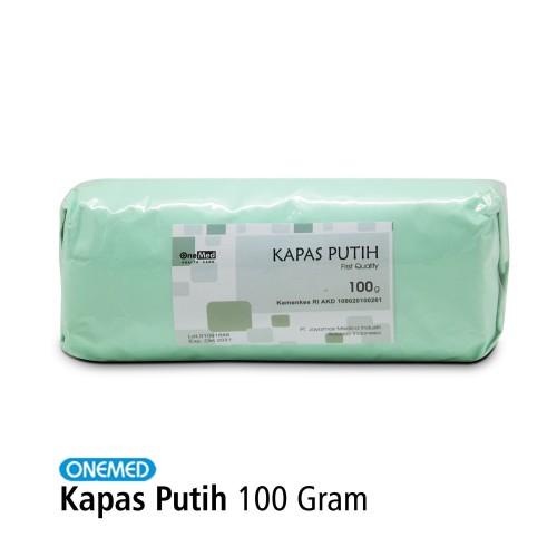 Foto Produk Kapas Putih Pembalut OneMed 100 Gram dari Onemed Rawat Luka