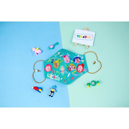 Foto Produk VINAJ Soft Mask - Tosca - Friends Series - Ear Loop dari Vinaj Little Things