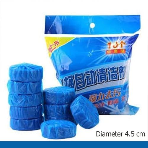 Foto Produk Tablet Biru Pembersih Penyegar Kloset Toilet 50g bukan Bagus SiBiru dari Tchome Official Store