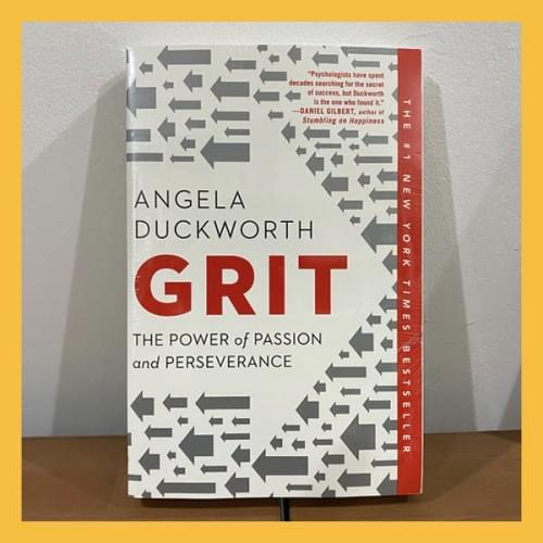 Foto Produk Buku Import Grit by Angela Duckworth (Original Paperback) dari Book World