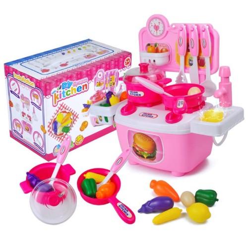 Foto Produk Mainan Edukasi Anak - DIY Dream Kitchen Set Masak Masakan Dapur dari Toko DnD