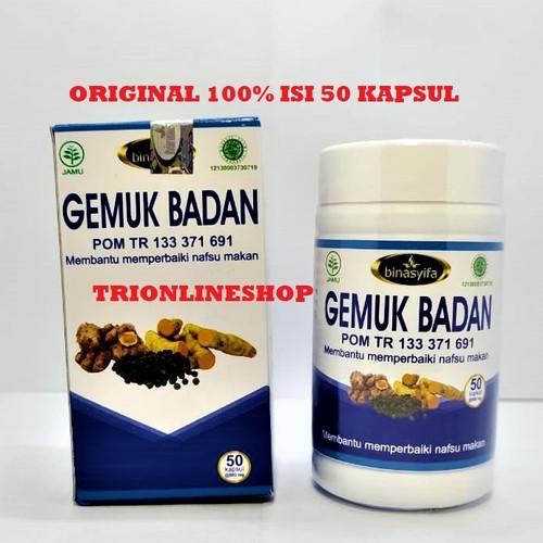 Foto Produk Obat penggemukbadan kapsul binasyIfa gemuk badan original KEMASAN BARU dari TRIONLINESHOP