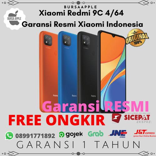 Foto Produk Xiaomi Redmi 9C 4/64 / RAM 4GB 64GB Garansi Resmi Xiaomi Indonesia - Orange dari BursaApple