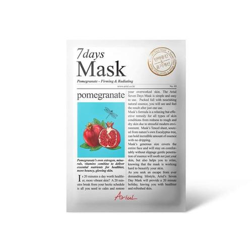 Foto Produk [ORIGINAL BPOM] ARIUL 7Days 7 Days Mask Sheet 20g - Pomegranate dari HNCbeauty