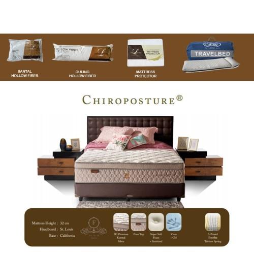 Foto Produk Lady Americana Chiroposture New Edition (Mattress Only) - 100x200 dari Lady Americana