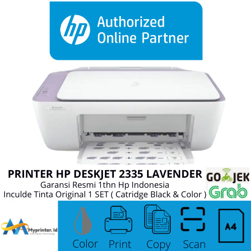 Foto Produk Printer HP 2336 2335 2337 ( Print,scan,copy) NEW Pengganti HP2135 dari myprinter.id