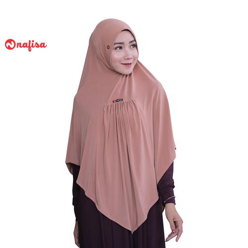 Foto Produk Nafisa Raida Yess   Jilbab Instan Bergo   Hijab Syar'i Panjang Premium - Coksu dari Nafisa