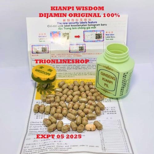 Foto Produk GINSENG KIANPI PIL WISDOS PENGGEMUK BADAN PALING MANJUR ORIGINAL dari TRIONLINESHOP