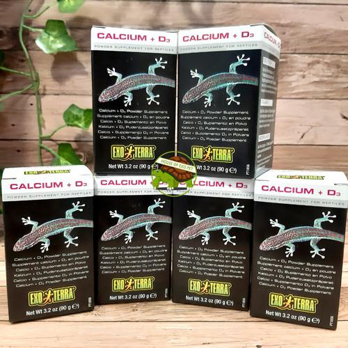 Foto Produk Calcium+D3 merk Exoterra / Calcium Reptile / Reptil - 90 gram dari House of Exo Pet