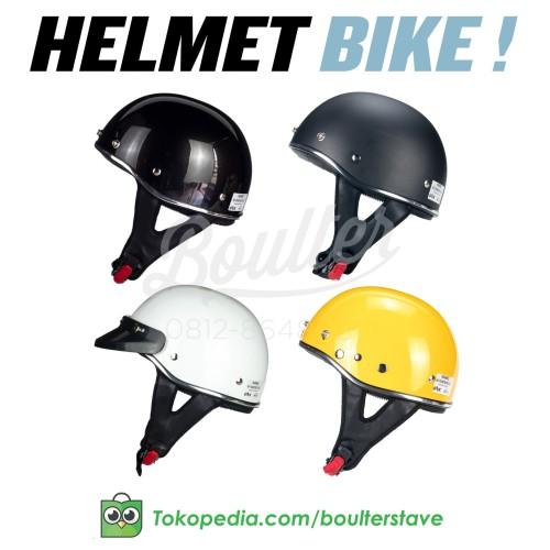 Foto Produk HELM SEPEDA RETRO - Classic Retro Bike Helmet - Hitam, HELM ONLY dari Boulter Helmet & Stave