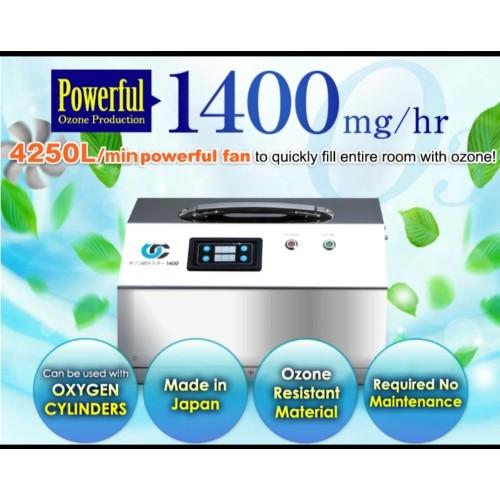 Foto Produk Ozone Generator Highest model/ Ozone cluster 1400/オゾン発生器 dari Anshin