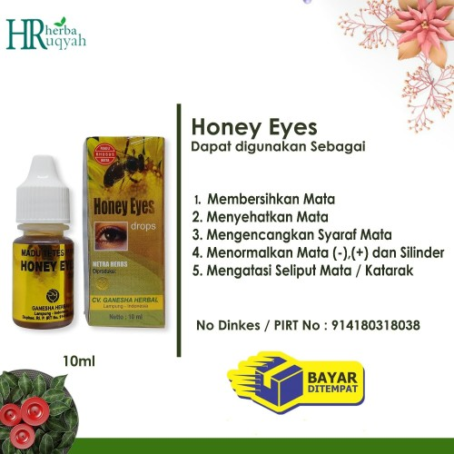 Foto Produk Honey Eyes / Madu Mata / Tetes Mata dari sarehat store