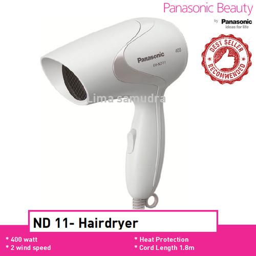 Foto Produk Panasonic Hair Dryer EH ND 11 Putih Pengering Rambut - Putih dari Lima Samudra