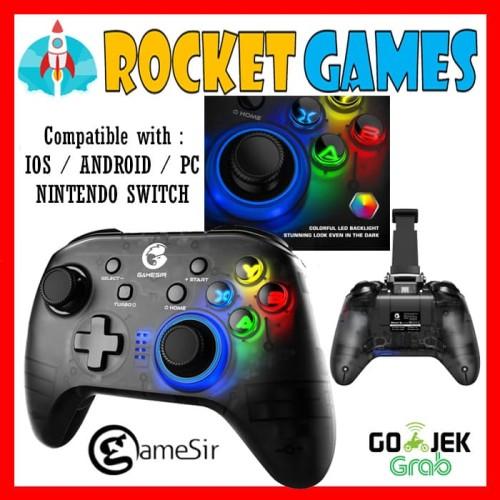 Foto Produk GameSir T4 Pro Gamepad Wireless Hybrid with Smartphone Holder dari Rocket games