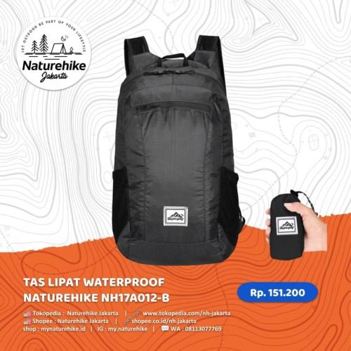 Foto Produk NATUREHIKE TAS LIPAT WATERPROOF NH17A012-B ANTI AIR ULTRALIGHT CAMPING - Biru dari Naturehike Jakarta