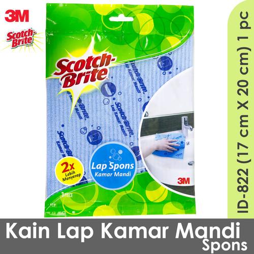 Foto Produk 3M Scotch Brite Kain Lap Spons Sponge Kamar Mandi ID-822 dari Tchome Official Store