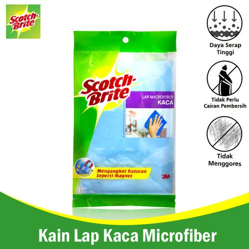 Foto Produk 3M Scotch Brite Kain Lap Microfiber u/ Kaca Kain Microfiber ID-81 dari Tchome Official Store