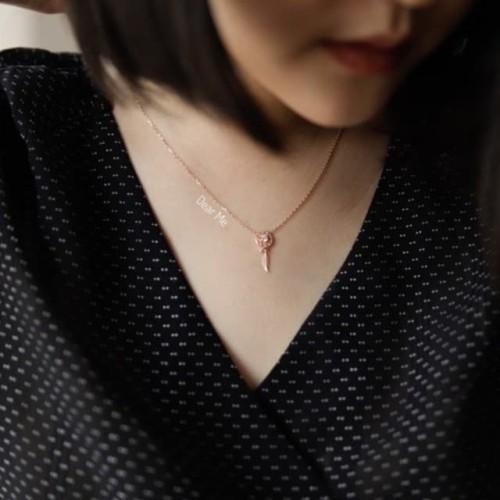 Foto Produk Dear Me - Dream Catcher Necklace (925 Sterling Silver 18K Gold Plated) dari Dear Me Jewelry
