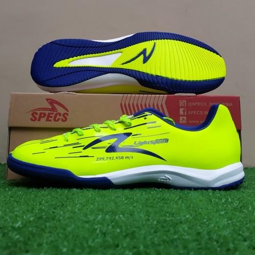 Foto Produk Specs Accelerator Lightspeed Reborn IN (Sepatu Futsal) - Safety Yellow dari KICKOFF SPORTS