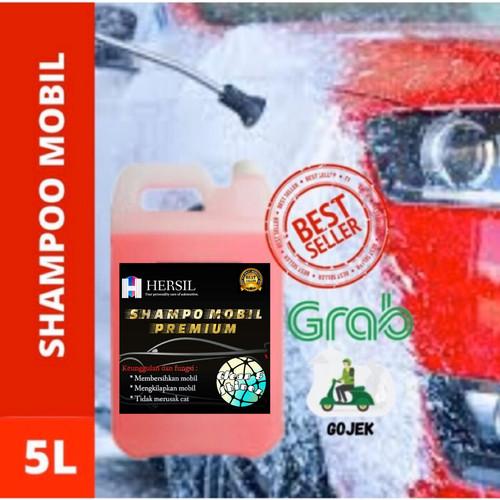 Foto Produk SHAMPOO SABUN CUCI MOTOR MOBIL SALJU BERKUALITAS -HERSIL dari HERSIL