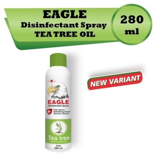 Foto Produk Caplang Eagle Eucalyptus disinfectan spray 280ml - 280ml tea tree dari Adekmungil babyshop