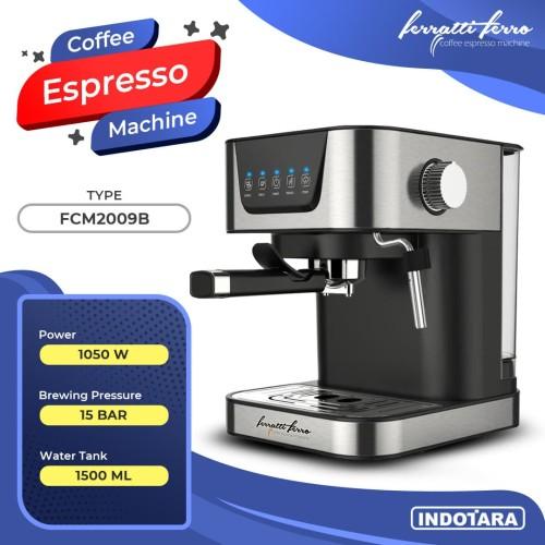 Foto Produk Mesin Kopi Espresso / Espresso Machine Ferratti Ferro FCM-2009B dari PT. Indotara Persada