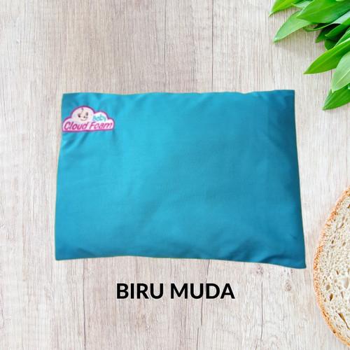 Foto Produk BANTAL ANTI PEYANG/BABY CLOUDFOAM - PAKET TERAPI 100% ORIGINAL 7 WARNA - Biru Muda dari HappyMoms-Store