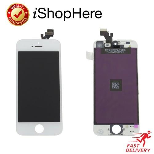 Foto Produk Premium Quality Layar LCD iPhone 5 5G 5S & Touchscreen. Ori Original - Hitam, iPhone 5 dari iShop Here