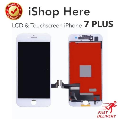 Foto Produk Premium Quality Layar LCD iPhone 7 Plus & Touchscreen Ori Original - Putih dari iShop Here