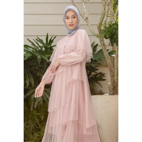 Foto Produk Tunik HijabChic Hawa Dusty Pink - M dari HijabChic Official