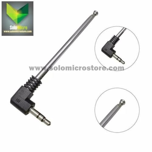Foto Produk Antena Antenna Fm Radio Portable Aux Audio Hp 3.5 mm 3.5mm dari Solo Micro