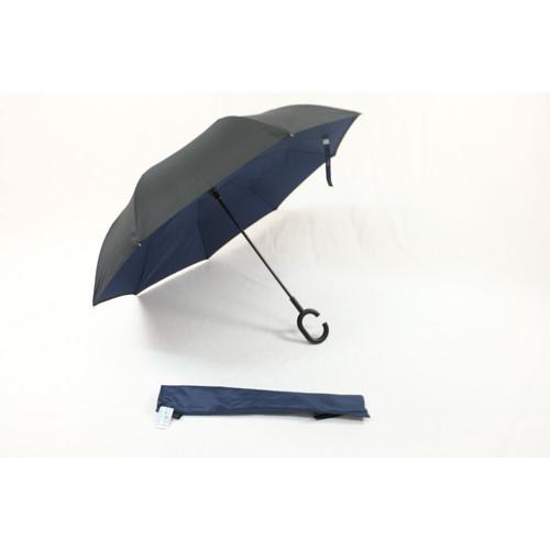 Foto Produk Payung Terbalik Kazbrella SKY 2nd Gen Kualitas EROPA (SARUNG ) - Navy dari JCbrella