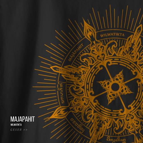 Foto Produk Kaos Bahnoo Majapahit - Hitam, XL dari bahnoo