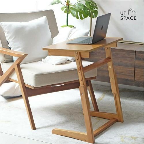 Foto Produk Scott Sofa Table / Side Table / Meja Sofa /Meja Lesehan / Meja Laptop - dark brown dari Up Space
