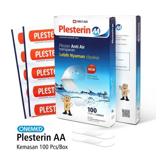 Foto Produk Plester Luka Plesterin AA Box Isi 100's Onemed dari Onemed Rawat Luka