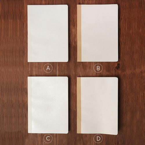 Foto Produk Leaf Impression Thick Ruled Notebook B5 Ruled / Buku Tulis B5 Bergaris - VARIAN A dari Pinkabulous