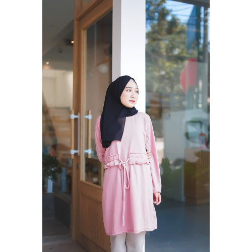 Foto Produk Mybamus Sabiya Obi Tops Dusty Pink M12581 R36S6 dari Mybamus Official