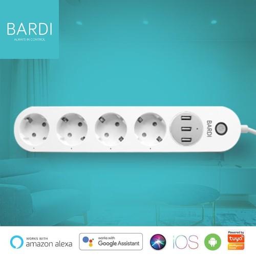 Foto Produk BARDI Smart Extension Power Strips (Smart Stop Kontak, WIFI) dari Bardi Official Store